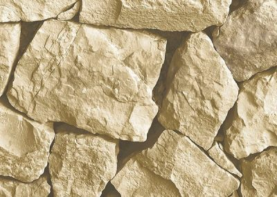 ochre and brown Spanish stone wallcovering